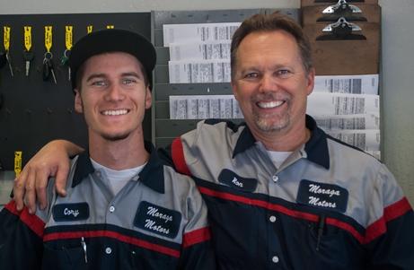 Ron Schumacker and Cory Schumacker